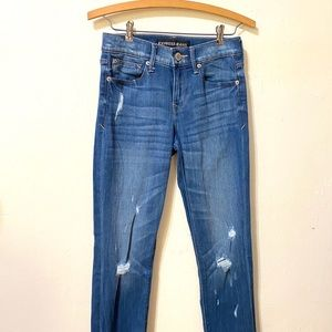 Express Jeans - Express Distressed Jeans